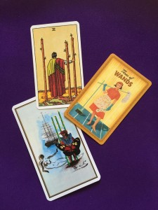 three of wands, rider waite tarot